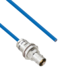 Plenum Cable Assembly TRB Non-Insulated Bulk Head Jack 3-Lug Cable Jack to Blunt MIL-STD-1553 .150