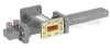 30 dB WR-137 Waveguide Crossguide Coupler with CPR-137G Flange and N Female Coupled Port from 5.85 GHz to 8.2 GHz in Bronze -- FMWCT1113 -Image