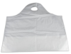 White Carryout Wavetop Bags -- 49662