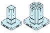 Four-sided Blocks For Clamping Base -- BJ070~072-MV