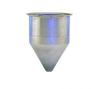 Stainless Steel Seamless Hopper Funnel, 0.8 Gal., 6.25