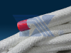 Ceramic Blanket Core Rope With Glassfiber Yarn Or Ceramic Fiber Yarn Mesh -Image
