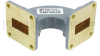 WR-90 Waveguide H-Bend Commercial Grade Using UG-39/U Flange With a 8.2 GHz to 12.4 GHz Frequency Range -- SMF90HB - Image