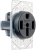 Pass & Seymour® -- Power Outlet Receptacles & Plugs - 3894