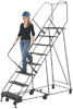 6 Wheel Easy Turn Ladder - Image