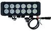 120 Watt High Intensity LED Light Bar - 12, 10-Watt LEDs - Trunnion U-Bracket Mount - 10320 Lumens