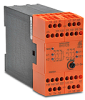 SAFETY RELAY, 24 VAC/DC, 3 N.O. 5 SEC DLY, 2 NO+1 NC INST, 2-CH, E-STOP/GATE -- BH5928-92-61-24-5