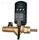 The Combo D-Lux is an all in one digital timer drain with an integrated ball valve and strainer.