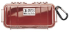 Pelican 1030 Micro Case - Clear with Red Liner -- PEL-1030-028-100 -Image