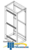 Chatsworth Products SlimFrame C-Series Cabinet -- C1231 -- View Larger Image