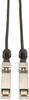 SFP+ 10Gbase-CU Passive Twinax Copper Cable, SFP-H10GB-CU1-5M Compatible, Black, 1.5M (5-ft.) -- N280-005-BK - Image