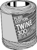 COTTON TWINE 1/2 IN X 510 FT -- IBI444737