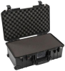 Pelican 1535 Air Case with Foam - Black | SPECIAL PRICE IN CART -- PEL-015350-0001-110 - Image