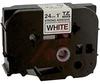 Tape; Adhesive Laminated; 1 in.; Black on White -- 70102219