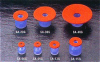 S-Series Vacuum Cups with Silicone Felt -- SA