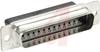 CONNECTOR, PLUG, HDP-20, CRIMP SNAP, 25POSITION, SIZE 3 -- 70085469 - Image