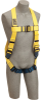 DBI-SALA Delta Yellow Universal Vest-Style Body Harness - Nylon Webbing - 648250-16300 -- 648250-16300