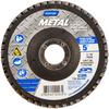 Norton Metal ZA Coarse Center Mount Fiberglass Conical Flap Disc -- 66254420003 - Image