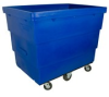 Royal Basket 27 cu. Ft Recycle Cart -- RB-B13BLRCE
