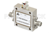 500 mW P1dB, 6 GHz to 12 GHz, Medium Power Broadband Amplifier, 16 dB Gain, 37 dBm IP3, 5 dB NF, SMA -- PE15A4044 -Image