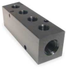 Manifold,3/4 In Inlet,4 Outlets,Alum -- 2KHH4