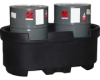 Ace / DenHartog Two Drum Containment Tank -- A-OP0055-2DC