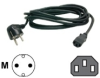StarTech.com 6 ft 2 Prong European Power Cord for PC.. -- PXT101EUR