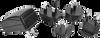 Wall Plug-In Multi Blade AC-DC Power Supply -- SMI6-12 - Image