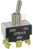 Switch, Toggle; 20 A @ 125 VAC, 10 A @ 277 VAC; DPDT; Screw terminals -- 70118899 - Image