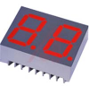 .56IN. 7 SEGMENT DUAL DIGIT DISPLAY, 660NM SUPER RED, GRAY FACE, WHITE SEGMENTS, -- 70127352