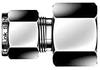 Dk-Lok® Female Connector -- DCF 22M-16R