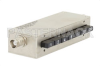 0 to 65 dB Push Button Step Attenuator, BNC Female to BNC Female with 1 dB Step Rated to 1 Watt Up to 750 MHz -- PE7008-1