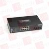 BLACK BOX CORP LEH808-2MMST ( HARDENED MANAGED ETHERNET SWITCH, 8-PORT 10/100BASE-TX + 2-PORT 100BASE-FX ST® MULTIMODE (2 KM) ) -Image