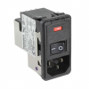 Power Entry Connectors - Inlets, Outlets, Modules -- 1-6609951-9-ND - Image