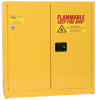 Eagle 24 gal Yellow Hazardous Material Storage Cabinet - 43 in Width - 44 in Height - Wall Mount - 048441-33393 -- 048441-33393