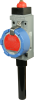 ISA100 WBX Series Hazardous Area Limit Switch, RP-SMA antenna jack, top pin plunger, ISA100.11a wireless networking -- WBX1B00ABC