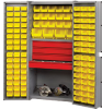 RELIUS SOLUTIONS Four-Drawer Cabinet with 118 Bins -- 8414100