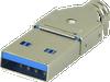 Type A USB Connector -- UP3-AV-4-CM