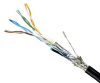 DataMax Extreme Ethernet Cat 5e, Hi Flex – 26 AWG, 2 Pair, Shielded, PUR -- 5055 -Image