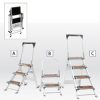LITTLE GIANT Safety Step Step Ladders -- 3280700