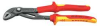 Insulated Water Pump Plier,10 In,Red/Ylw -- 10U043