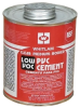 Whitlam PVC Clear Low VOC Medium Bodied Cement -- 16772