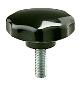 Fluted Knob -- 04L-12S-M630
