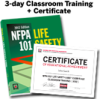 NFPA 101, Life Safety Code (2012) Essentials for Health Care Occupancies 3-day Classroom Training with Certificate of Educational Achievement - Image