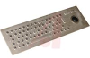 Keyboard, Vandal Proof, 67 Key US Layout, Ultra Rugged Trackball, Stain Steel -- 70207434