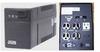 Powercom BNT-1000CS, 4UPS+2Surge 1000VA/600W -- 3401-SF-08