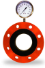 Flange Mounted Pressure Sensors for Slurry and Corrosive Fluids -- Series 40W