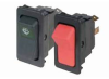 Lighted Rocker Switch SPST On-Off momentary / maintained 15A/125Vac 15A/28Vdc -- 78211657162-1
