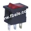 Miniature Rocker Switch -- MIRS-101-1 ON-OFF