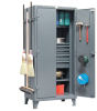 Housekeeping And Tool Cabinet -- 36PB-243-4DB/BH